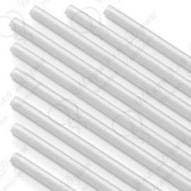 Палочки Белые, 100 шт. (диаметр 5 мм, длина 370 мм)