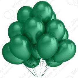 Воздушный шар 30 см зеленый, пастель.
