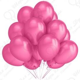 Воздушный шар 30 см, фуше, пастель.