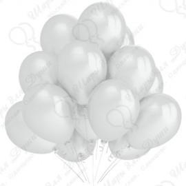 Воздушный шар 30 см жемчужный, перламутр.