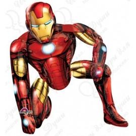 Шар ходячая фигура - Железный человек. 116 см.