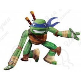Шар ходячая фигура - Черепашка Нинзя Леонардо.