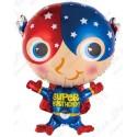 Фигурный шар - Супер Герой.