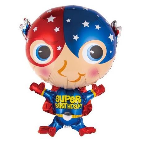 Фигурный шар - Супер Герой. 71 см.