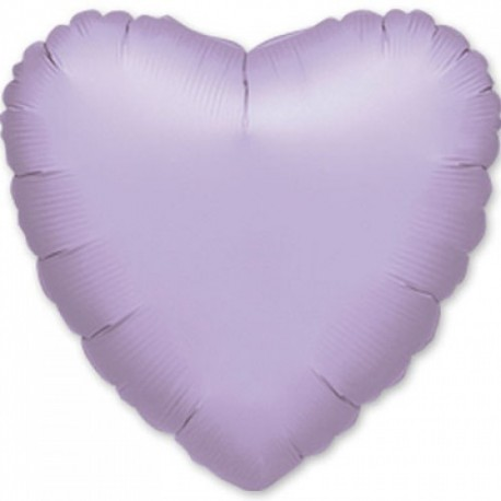 Фольгированное сердце - Лиловое. 81 см.