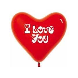 Воздушные шары - Сердца