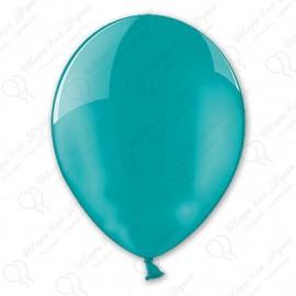 Воздушныйшар 30 см, зелено-голубой, пастель.