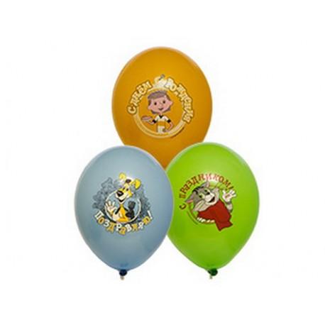 Воздушный шар простоквашино, 38 см.