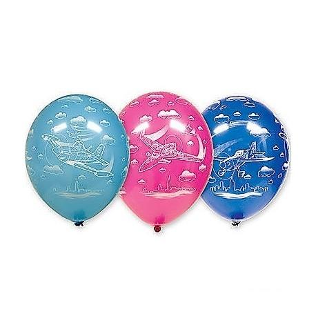 Воздушный шар самолеты, 38 см.