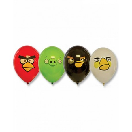 Воздушный шар Angry Birds, 38 см.