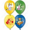 Воздушный шар  38см Disney Винни, ассорти, пастель.