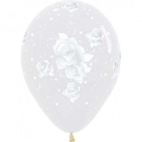Воздушный шар - прозрачный, 30 см.