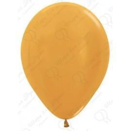 Воздушный шар золото, металлик для запуска в небо.