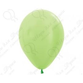 Воздушный шар лайм, перламутр для запуска в небо.