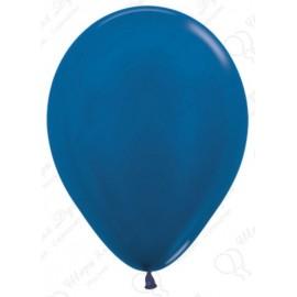 Воздушный шар синий, металлик для запуска в небо.