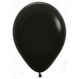 Воздушный шар черный, пастель для запуска в небо.