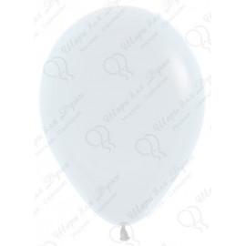 Воздушный шар белый для запуска в небо, 30 см.