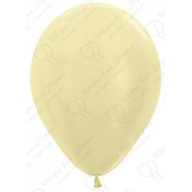 Воздушный шар светло-желтый, перламутр для запуска в небо.