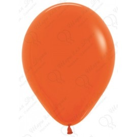 Воздушный шар оранжевый, пастель для запуска в небо.