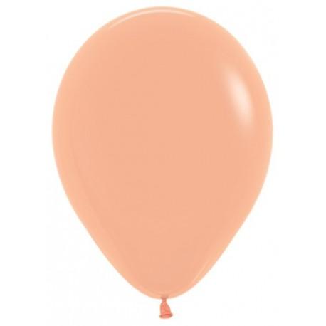 Воздушный шар персиковый, пастель для запуска в небо, 30 см.