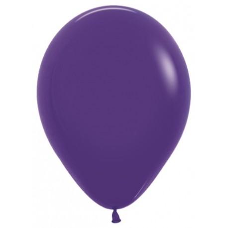 Воздушный шар фиолетовый, пастель для запуска в небо, 30 см