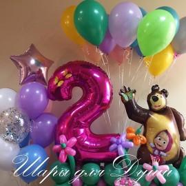 Шары на День Рождения №124