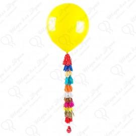 Большой шар - желтый 70 см. с обработкой.