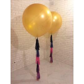 Большой шар - золотой 70 см. с обработкой.