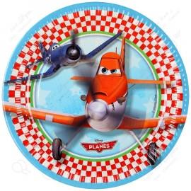 Набор одноразовых тарелок - Procos Самолеты.