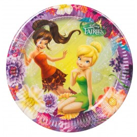 Набор одноразовых тарелок - Феи Магия.
