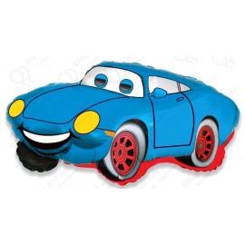 Фигурный шар - Гоночная машина, синий. 81 см.
