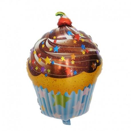 Фигурный шар - Шоколадный торт. 71 см.
