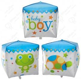 Фигурный шар - Циркон, малыш мальчик.