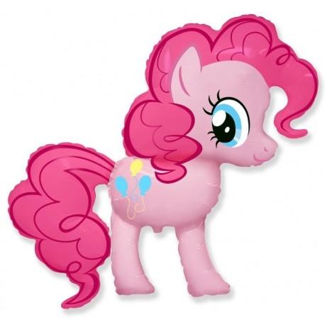 Фигурный шар - милая Пони Пинки Пай. 102 см.