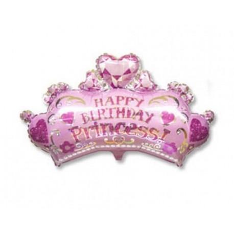 Фигурный шар - Корона принцессы. 64 см.