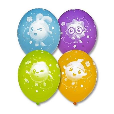Воздушный шар Малышарики, пастель, 38 см