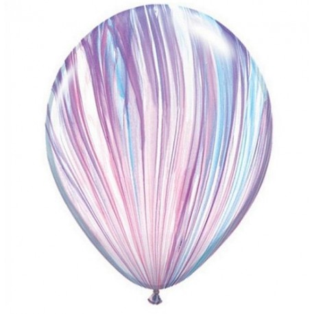 Воздушный шар - супер агат, стильный, 30 см.