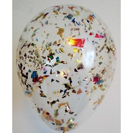 Воздушный шар с конфетти - ассорти.