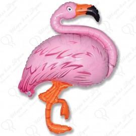 Фигурный шар - Фламинго, 86 см.