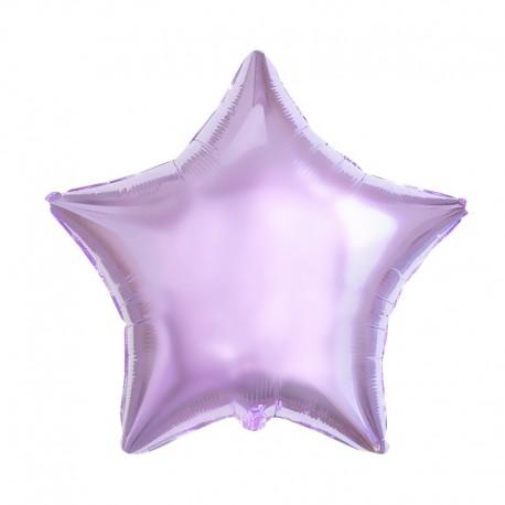 Фольгированный шар - Звезда сиреневая. 81 см.
