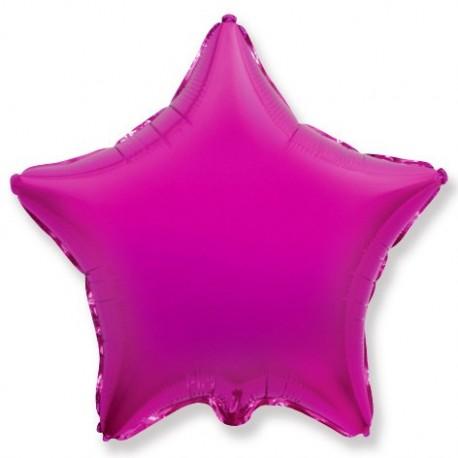 Фольгированный шар - Звезда фуше. 46 см.