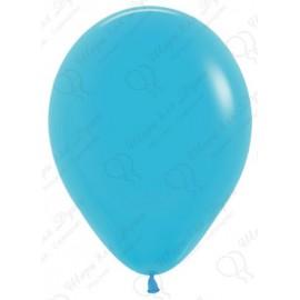 Воздушныйшар синяя бирюза, пастель, 30 см.