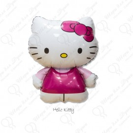 Фигурный шар - Hello Kitty розовая, 86 см.