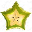 Фольгированный шар 46 см  Звезда Карамбола.