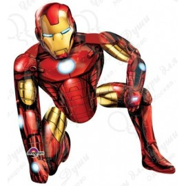 Шар ходячая фигура - Железный человек.