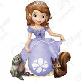 Шар ходячая фигура - принцесса София.
