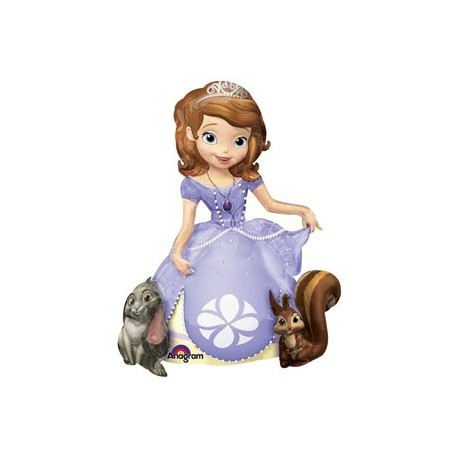 Шар ходячая фигура - принцесса София. 121 см.