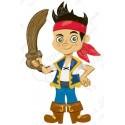 Шар ходячая фигура - Джейк пират.