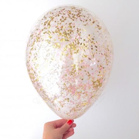 Воздушный шар с конфетти, 30 см